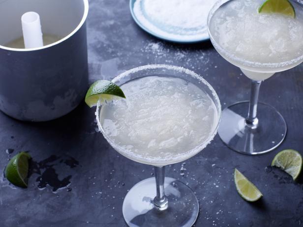 Get Ice Cream Maker Margaritas Recipe from Food Network