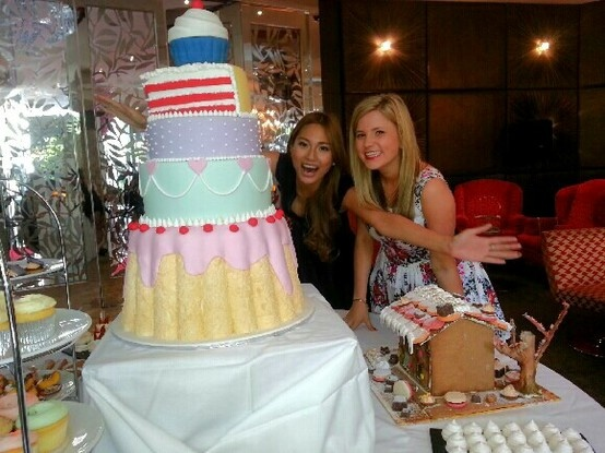 What an amazing cake – the perfect way to launch Channel Nine's The Great Australian Bake Off!