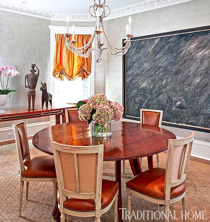 Sophisticated Chicago Townhome | Traditional Home #TomStringerDesignPartners #TSDP #DiningRoom