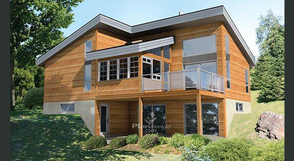 Plan Maison Foyer Roannais : Planimage voilà un chalet de style urbain qui ne