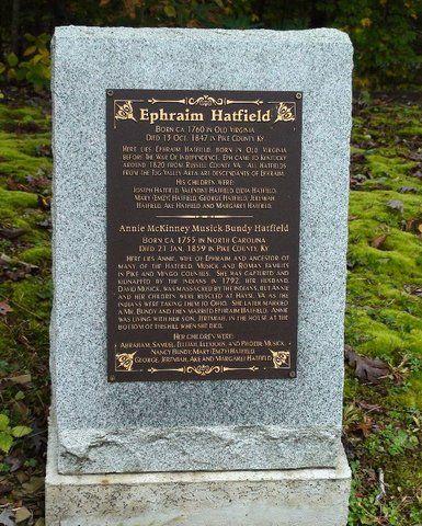 Genealogy Profile For Ephraim Eaf Of All Hatfield I Hatfield Hatfields And Mccoys Hatfield And Mccoy Feud