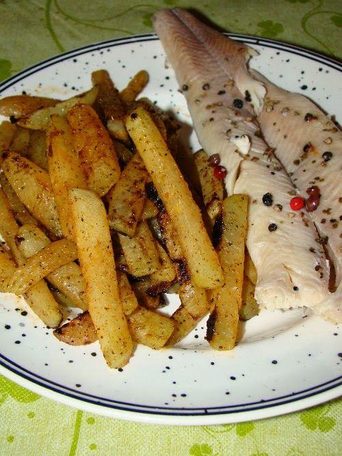 Cristina's world: Gulie prajita - cartofi prajiti falsi