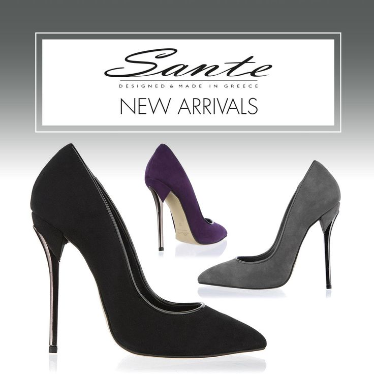 NEW in SANTE Pumps ‪#‎BuyWearEnjoy‬ ‪#‎SanteMadeinGreece‬ Available in stores & online: www.santeshoes.com