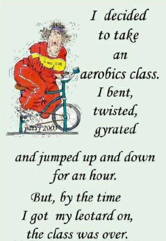 Aerobics...
