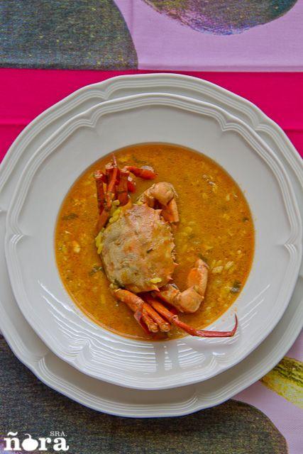 Arroz caldoso de cangrejos-12