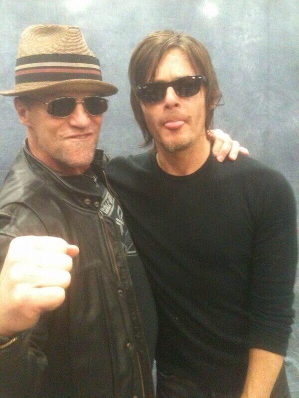 Norman Reedus & Michael Rooker