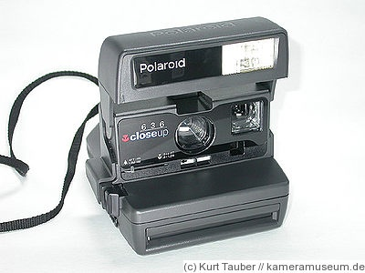 Polaroid: Polaroid 636 Close Up camera  http://collectiblend.com/