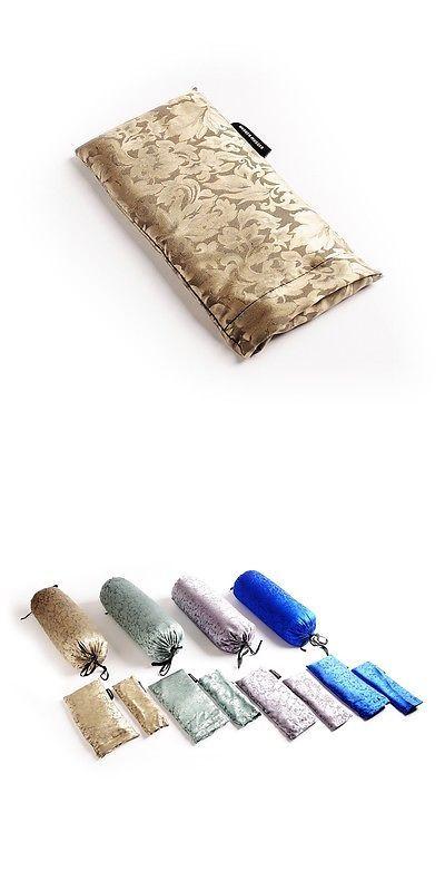 Pilates Accessories 44086: Hugger Mugger Silk Eyebag - Beads - Gold -> BUY IT NOW ONLY: $30.55 on eBay!