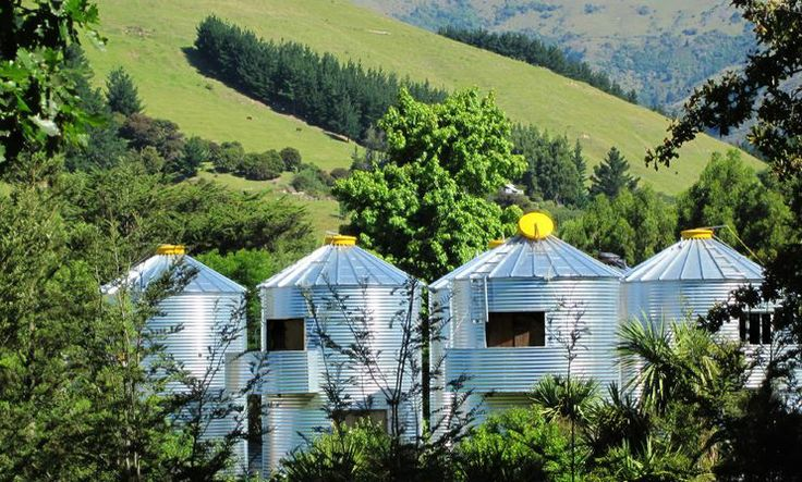 SiloStay have converted the humble grain silo into modern & unique serviced apartments.  http://www.aatravel.co.nz/main/listing.php?listingId=253297