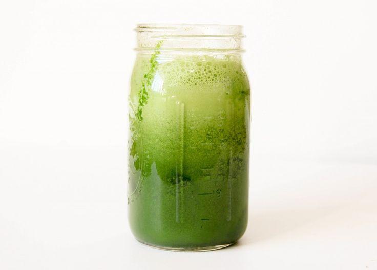 Green juice recipe WITHOUT celery! I hate celery!!!