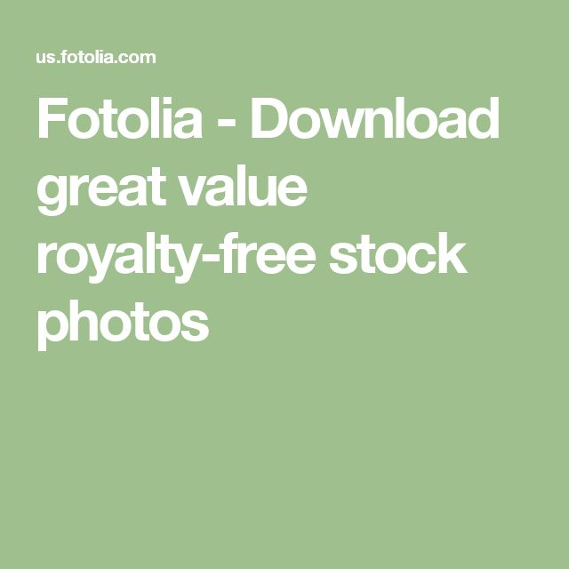 Fotolia - Download great value royalty-free stock photos