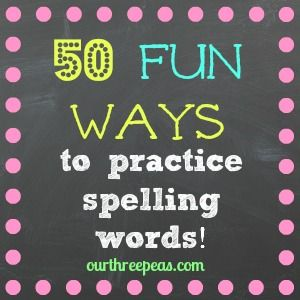 Last November I wrote this post about different ways to practice spelling words. Now that my kids are in a new school year, I wanted to revamp and add onto that original list.  My daughter is in 2nd grade now and has a longer list of words and they are getting more and more …