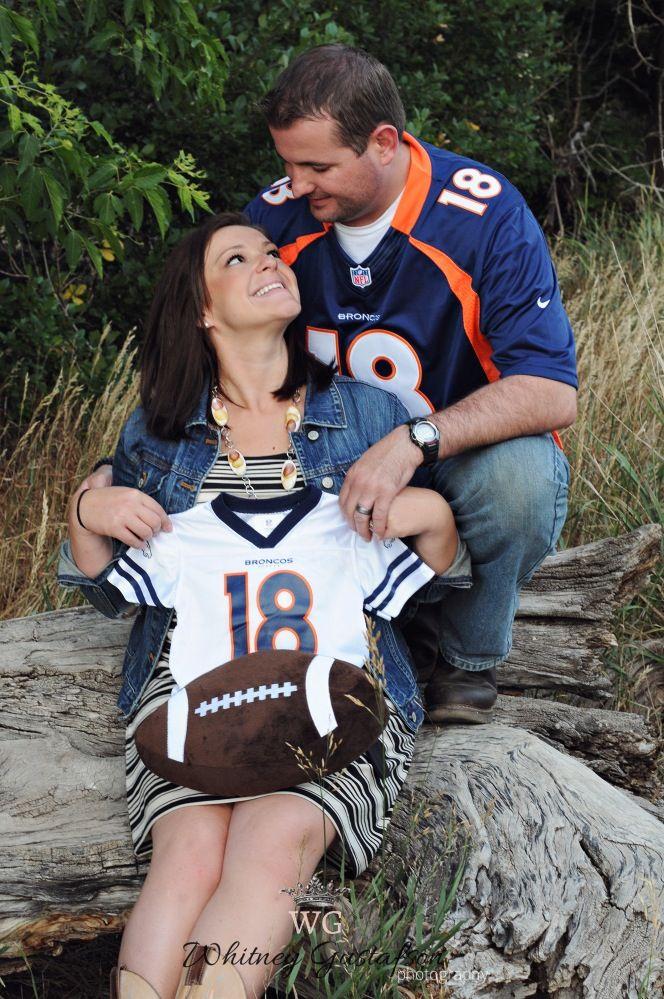 Denver Broncos Maternity Pic!