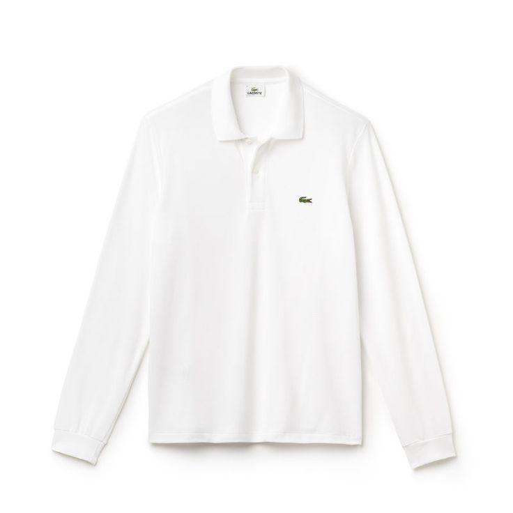 Avec ses manches longues et son piqué de coton épais, ce polo promet confort et chaleur à la silhouette. Classique du vestiaire masculin, vous le porterez au quotidien pour un look à la fois chic et décontracté.