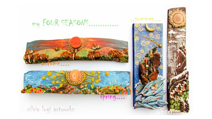 Silvia Logi | Wall panels various subjects
