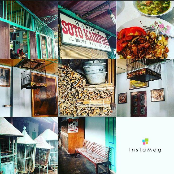 The original Warung Soto Kadipiro Jl. Wates 33. Yogyakarta. Must try . by l_koswara
