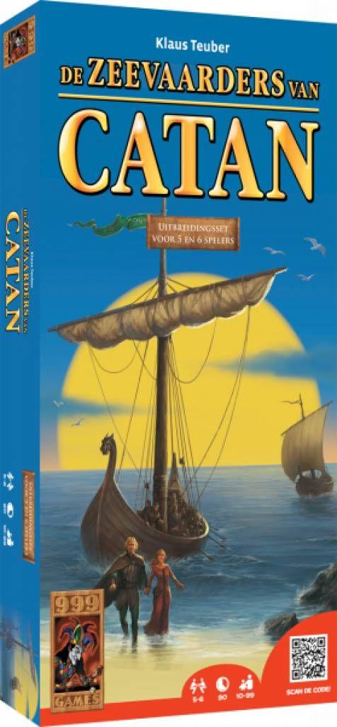 Met deze uitbreiding speel je De Kolonisten van Catan en de uitbreiding De Zeevaarders van Catan nu ook met 5 of 6 spelers!  http://www.planethappy.nl/999-games-de-kolonisten-van-catan-de-zeevaarders-5.html