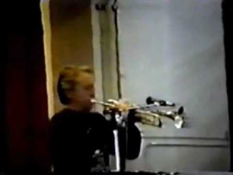 Doc Severinsen Trumpet Clinic - Part 2 of 3: Part 2 of the clinic by Doc Severinsen on trumpet playing. He goes through his entire warmup routine, actually warming up during the clinic. I believe this clinic was given in the early 1990's.