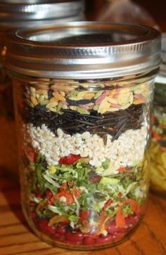 Make your own Garden Vegetable Soup mix.  Makes a tasty gift from the kitchen or gift in a jar. Includes mixing and cooking instructions. #GiftInAJar #MixInAJar