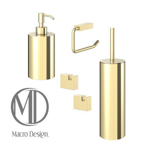 Kubic är vårt exklusiva badrumsset i massivt rostfritt stål både funktionellt och ger ditt badrum det där lilla extra Kubic finns i färgerna guld, krom och svartkrom med blankpolerade finish.