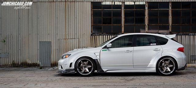 Nick's 2008 #Subaru Impreza #WRX STi #SubaruofHuntValley