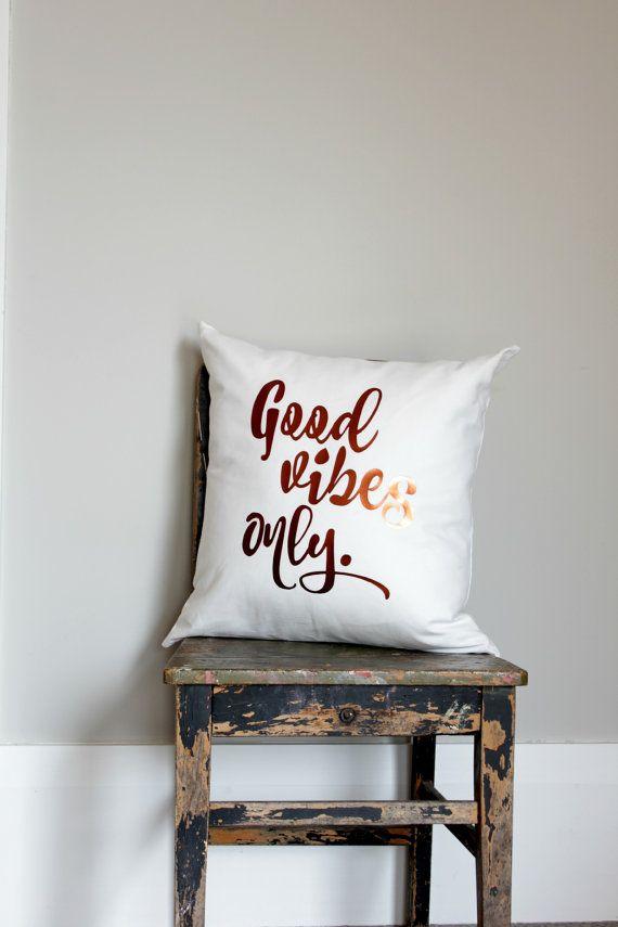 Kupfer Throw Pillow Kissen gute Stimmung nur Abdeckung   Etsy