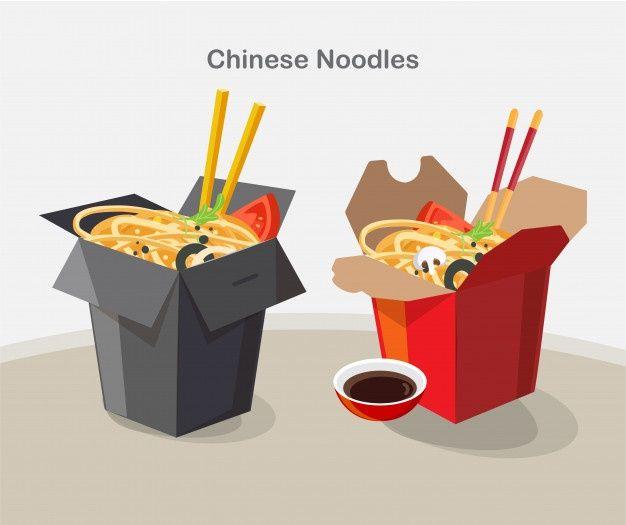 Chinese Food Take Away Box Take Away Box Noodles In 2020 Chinese Food Chinese Takeaway Food