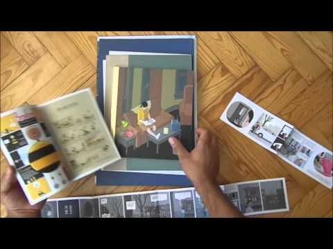 ▶ Chris Ware' Building Stories (unpacking) - YouTube