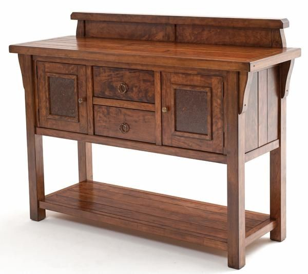 Best Rustic Solid Wood Furniture Images On Pinterest Solid