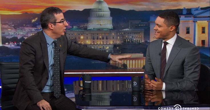 #World #News  John Oliver 'accidentally eviscerates' Trevor Noah as guest on 'The Daily…  #StopRussianAggression #lbloggers @thebloggerspost