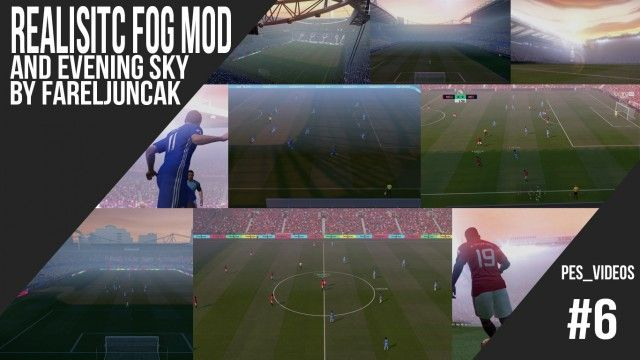 PES 2017 Realistic Fog + Evening Sky BETA by FarelJuncak