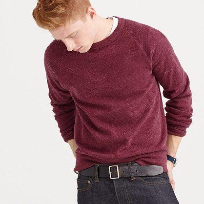 J.Crew - Brushed fleece sweatshirt