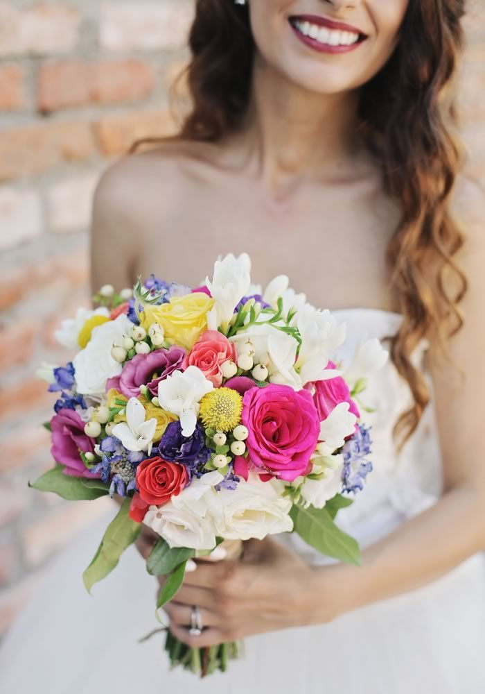 This vintage wedding is a colourful handmade masterpiece!