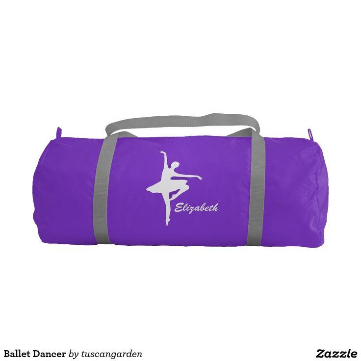 Ballet Dancer Gym Duffle Bag