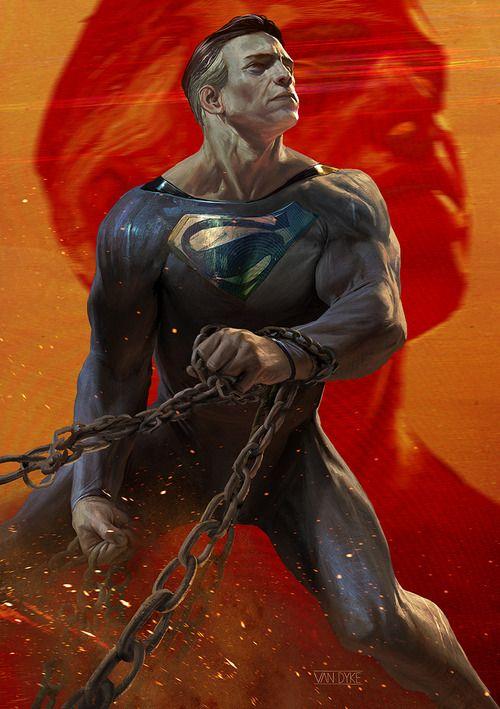 Superman by GeirrodVanDyke
