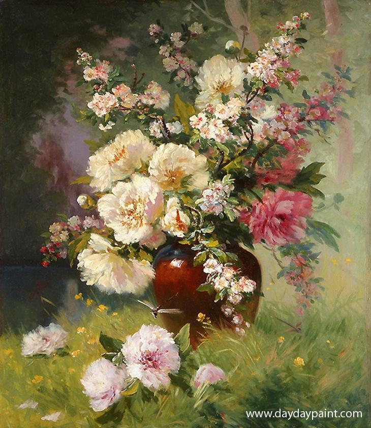 Best 25 famous flower paintings ideas on pinterest van for Floral painting ideas