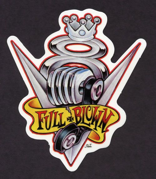 V8 FULL BLOWN DECAL STICKER TATTOO HOT ROD DRAG RACE |