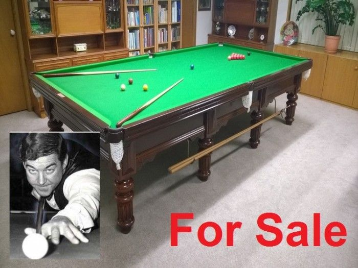 Eddie Charlton, A.M - Billiard Table (Price $6,000 negotiable.) - http://www.m5industrial.com.au/eddie-charlton-m-billiard-table-sale/ http://www.m5industrial.com.au/eddie-charlton-m-billiard-table-sale/