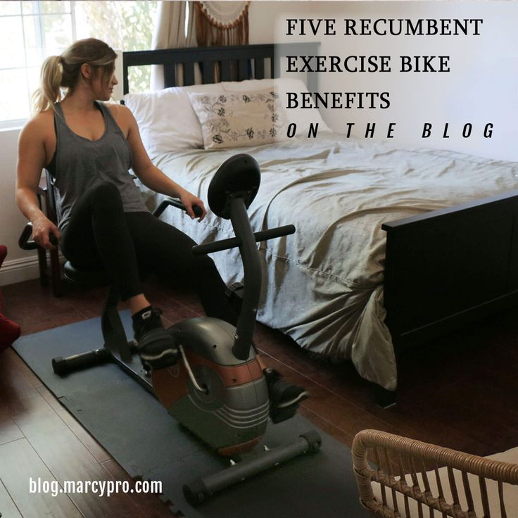 Marcyfitness Blogthe Five Recumbent Bike Benefits That Make Them Perfect For Your Home Gym Recumbent Bike Benefits Recumbent Bike Workout Biking Workout