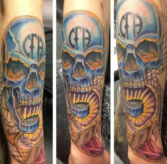 pantera cowboys from hell tattoo - photo #3