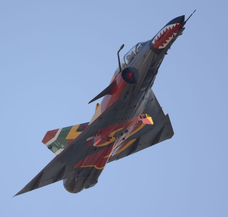 Museum SAAF 2 Squadron Cheetah D in display colours