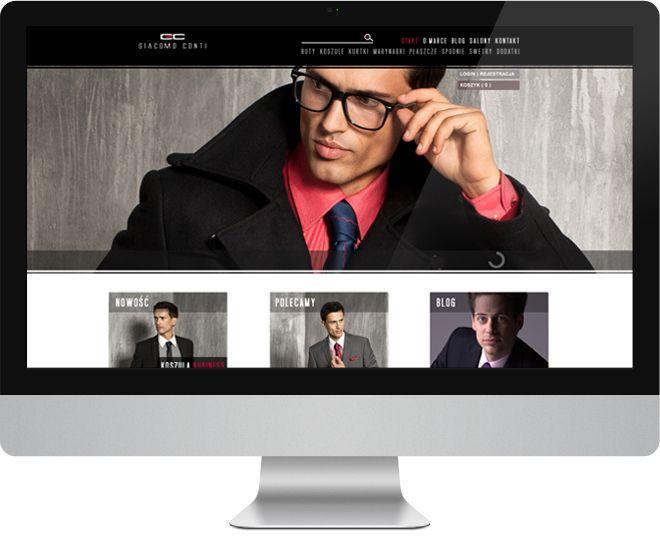 Cieszy nas fakt, że dla marki Giacomo Conti wykonaliśmy rozbudowany sklep www. Zakupy w jednym kroku, zaawansowane filtrowanie produtków, cross-selling, newsletter to tylko część zastosowanych funkcjonalności..  Zapraszamy na zakupy ;) i do obejrzenia realizacji na www.sklep.giacomo.pl. #clothes #giacomo #giacomoconti #design
