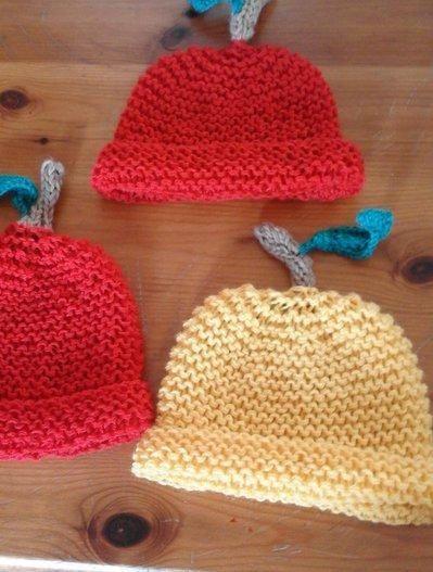 2 cappello bambino mela