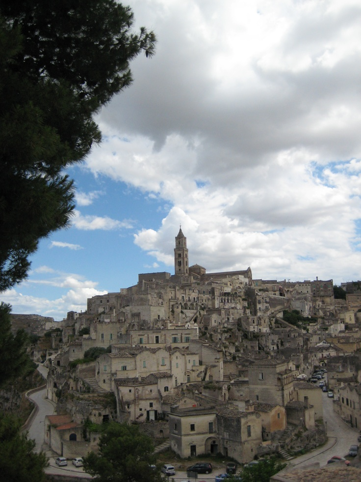 """Matera is an atmospheric town in southern Italy; a UNESCO site. Matera has gained international fame for its ancient town, the """"Sassi di Matera"""" (meaning """"stones of Matera""""). Tricky to reach, but well worth making the effort for a memorable trip."""