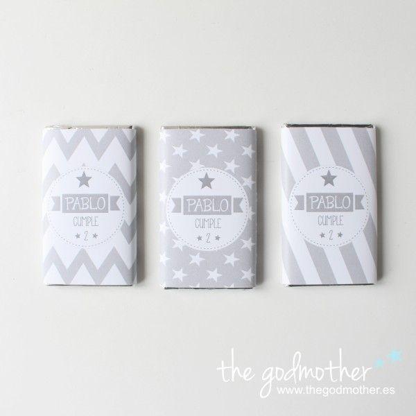 Kit 30 chocolatinas personalizadas - the godmother - shop