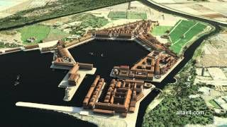 Amazing Re-creation of the Port of Ostia!!!!  Can't watch this enough (history freak, it's a sickness!!)