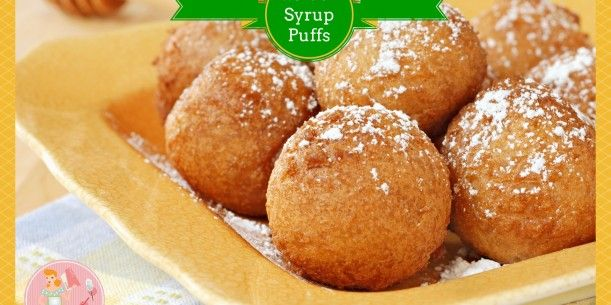 Golden Syrup Puffs | Stay at Home Mum