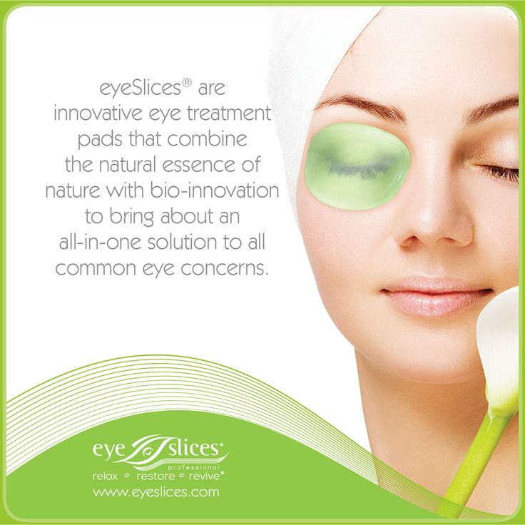 eyeSlices are innovative eye treatment pads that combine the natural essence of nature with bio innovation to bring about an all-in-one solution to all common eye concerns.