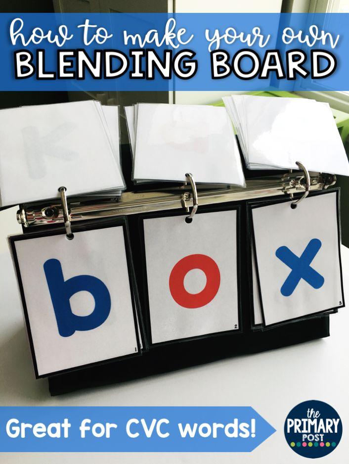 Blending CVC Words | great for RTI kids or introducing blending