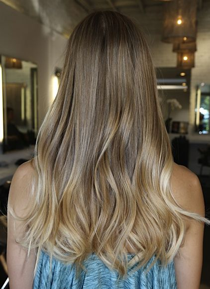 17 best images about hair on pinterest dark blonde ombre hair color and perfect blonde - Ombre hair blond ...